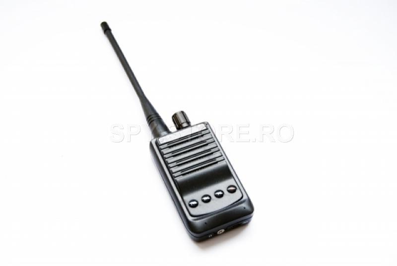 Set dispozitiv de ascultare și receptor audio cu înregistrare