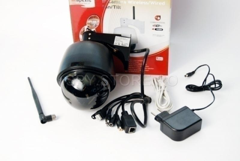 Camera IP Dome cu zoom