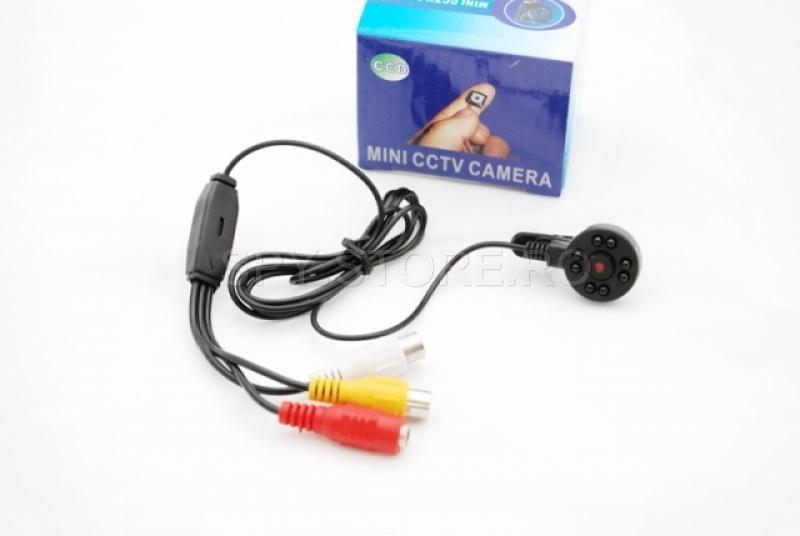 Camera CCTV cu led-uri IR