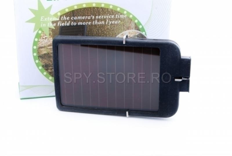 Acumulator solar pentru camera de vanatoare HD49