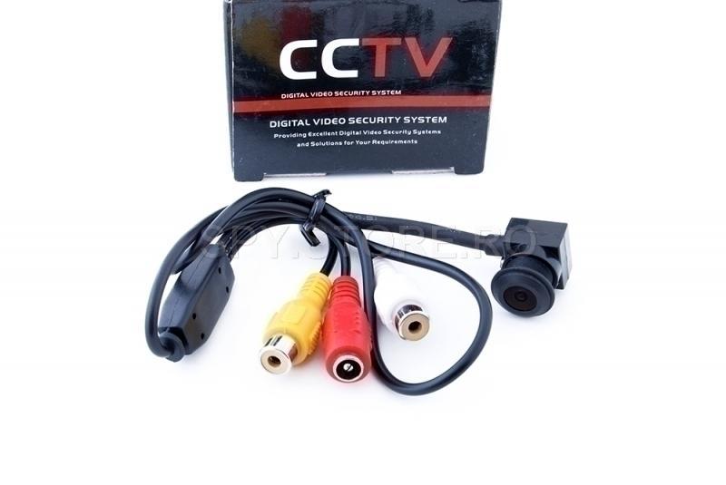 Camera CCTV de inalta rezolutie cu sunet