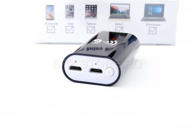 Mini endoscop cu modul Wi-Fi de 2 metri penru Android