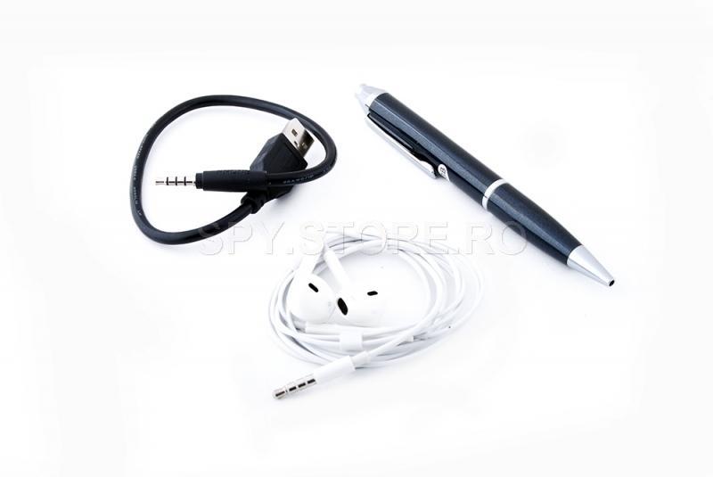 Reportofon audio in pix, fără activare vocală