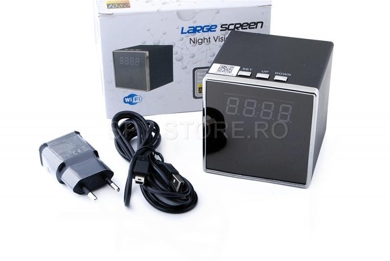Camera IP in ceas cu night vision