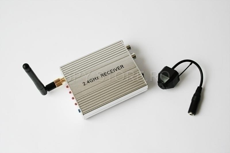 Set camera wireless si receptor